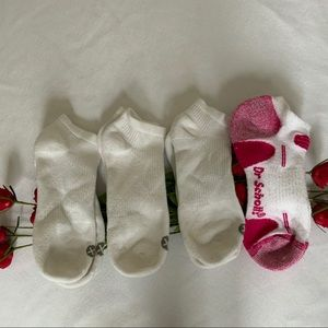 Bundle Of 4 Pairs Of Cotton Women's Ankle Socks